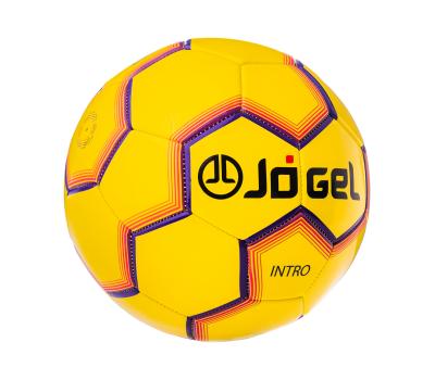 Мяч футбольный JS-100 Intro №5, желтый, фото 1