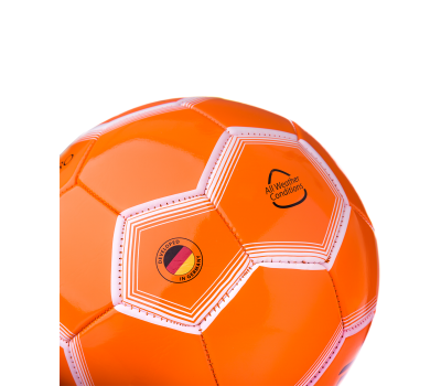 Мяч футбольный JS-100 Intro №5, оранжевый, фото 3