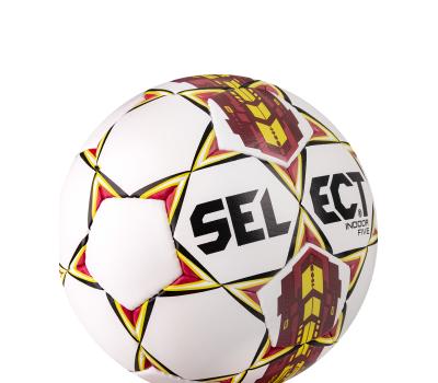 Мяч футзальный Indoor Five бел/крас/желтый, фото 4