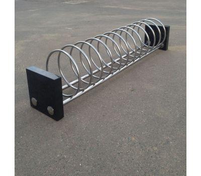 Велопарковка спираль + гранит, фото 1
