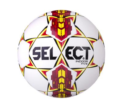 Мяч футзальный Indoor Five бел/крас/желтый, фото 1