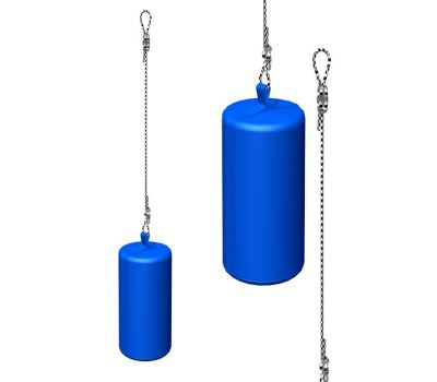 Мешок боксерский, вес 12кг ДМФ-МК-01.67.03, фото 1