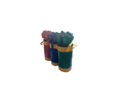 Набор боксерский детский № 2 (мешок боксерский 5 кг. + перчатки + трос) синий/желтый, фото 1