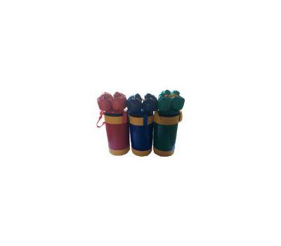 Набор боксерский детский № 2 (мешок боксерский 5 кг. + перчатки + трос) красно/желтый, фото 1