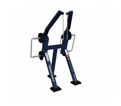 Веревочная вертикальная тяга стоя с изменяемой нагрузкой, фото 1