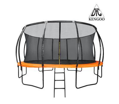 Батут DFC KENGOO 16 футов (488 см) внутр.сетка, лестница, оранж/черн (3 кор), фото 1