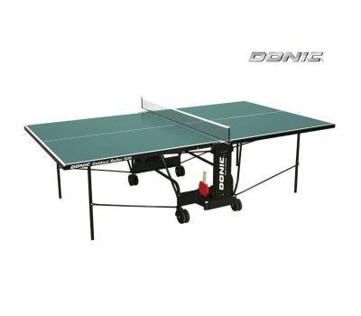 Теннисный стол OUTDOOR ROLLER 600 зеленый, фото 2