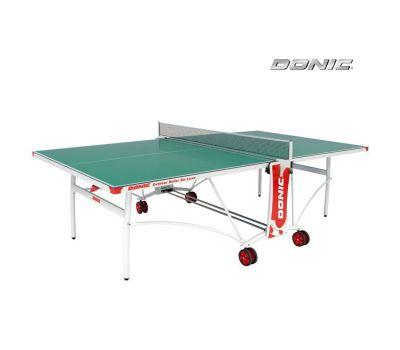 Теннисный стол OUTDOOR ROLLER DE LUXE зеленый, фото 1