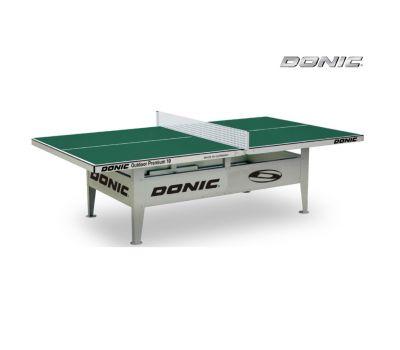 Теннисный стол антивандальный OUTDOOR Premium 10 зеленый, фото 2