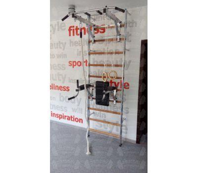 Комбинированная шведская стенка КОМБИ (Хром-бук), фото 2