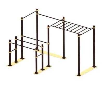 Мобильный комплекс для Воркаут Air-Gym  Стандарт-11, фото 1