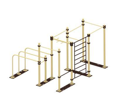 Мобильный комплекс для Воркаут Air-Gym Стандарт-9, фото 1