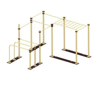 Мобильный комплекс для Воркаут Air-Gym Стандарт-8, фото 1