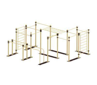 Мобильный комплекс для Воркаут Air-Gym  Стандарт-10, фото 1