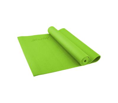 Коврик для йоги STARFIT FM-101 PVC 173x61x0,4 см, зеленый 1/20, фото 1