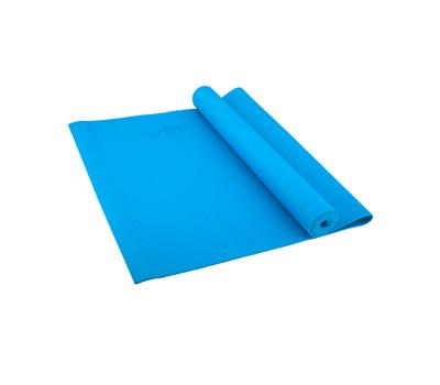 Коврик для йоги STARFIT FM-101 PVC 173x61x0,4 см, синий 1/20, фото 1