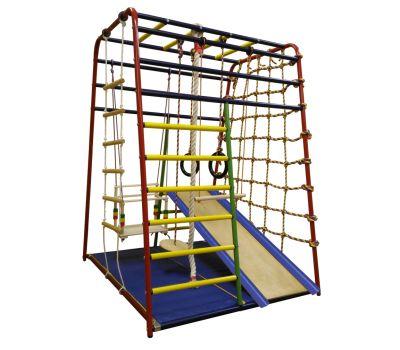 Детский спортивный комплекс «Веселый Малыш NEXT» производства «Вертикаль», фото 1