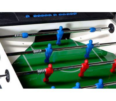Всепогодный настольный футбол (кикер) «Storm F-3 family outdoor» (138x76x88 см, жетоноприемник), фото 3