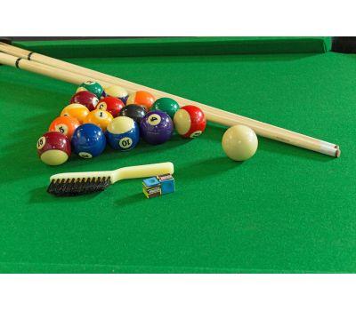 Cтол-трансформер Twister 3 в 1 (3 игры: бильярд, аэрохоккей, настольный теннис; 217 х 107,5 х 81 см; черный), фото 4