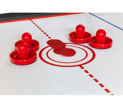 Cтол-трансформер Twister 3 в 1 (3 игры: бильярд, аэрохоккей, настольный теннис; 217 х 107,5 х 81 см; черный), фото 9