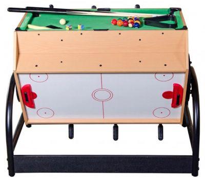 Игровой стол Mini 3-in-1 (81 х 62 х 72 см; 3 игры: футбол, аэрохоккей, бильярд), фото 1