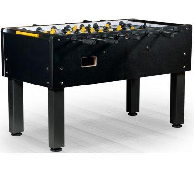 Настольный футбол (кикер) «Marsel» (144x76x90см, черный), фото 1