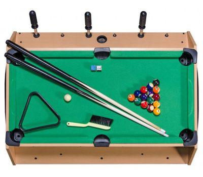 Игровой стол Mini 3-in-1 (81 х 62 х 72 см; 3 игры: футбол, аэрохоккей, бильярд), фото 15