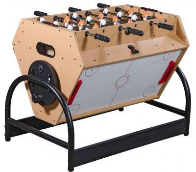 Игровой стол Mini 3-in-1 (81 х 62 х 72 см; 3 игры: футбол, аэрохоккей, бильярд), фото 16