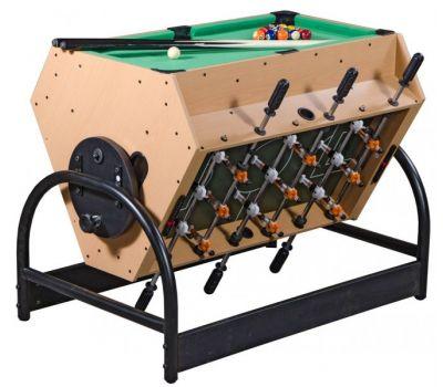 Игровой стол «Mini 3-in-1» (81 х 62 х 72 см; футбол, аэрохоккей, бильярд)