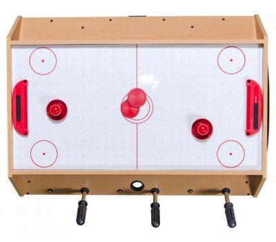 Игровой стол Mini 3-in-1 (81 х 62 х 72 см; 3 игры: футбол, аэрохоккей, бильярд), фото 4