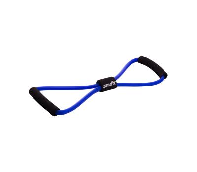 Эспандер мультифункциональный ES-603, 8х12х1000 мм, синий, фото 1