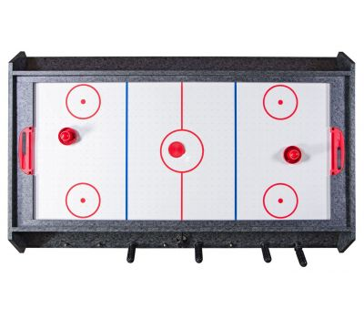 Стол-трансформер Vortex 3-in-1 (3 игры: аэрохоккей, футбол, бильярд, 127 х 78.7 х 86.4 см, серый), фото 7