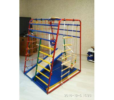 Детский спортивный комплекс «Веселый Малыш NEXT» производства «Вертикаль», фото 2