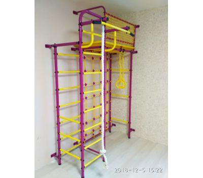 Спортивно-игровой комплекс Пионер 10С сине/жёлтый, фото 2