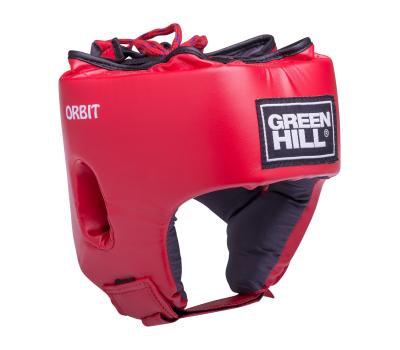 Шлем открытый детский Orbit, HGO-4030, кожзам, красный, M, фото 1