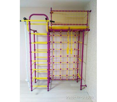 Спортивно-игровой комплекс Пионер 10С сине/жёлтый, фото 3