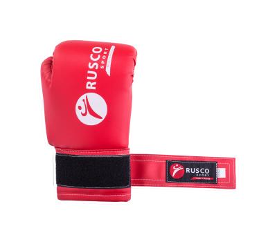 Перчатки боксерские, 8oz, к/з, красные, фото 5