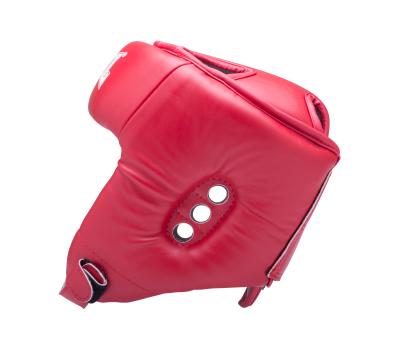 Шлем открытый RV-302, кожзам, красный, M, фото 3