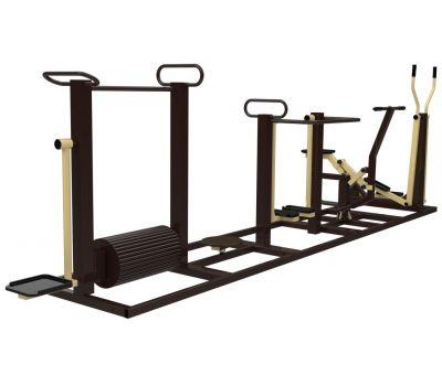 Комплекс с тренажерами Air-Gym YTR1K, фото 2