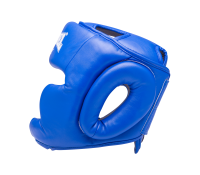 Шлем закрытый RV-301, кожзам, синий, XL, фото 3
