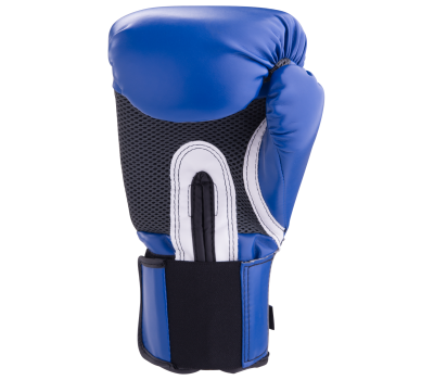 Перчатки боксерские Pro Style Anti-MB 2216U, 16oz, к/з, синие, фото 4