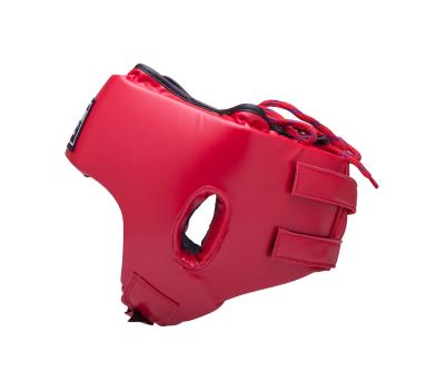 Шлем открытый детский Orbit, HGO-4030, кожзам, красный, XL, фото 3