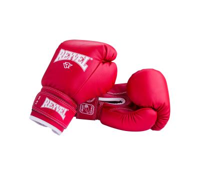 Перчатки боксерские RV-101, 6oz, к/з, красные, фото 1