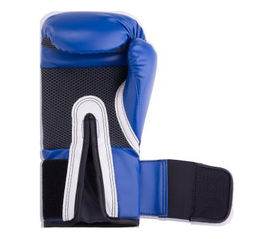 Перчатки боксерские Pro Style Anti-MB 2216U, 16oz, к/з, синие, фото 3