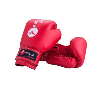 Перчатки боксерские, 8oz, к/з, красные, фото 1