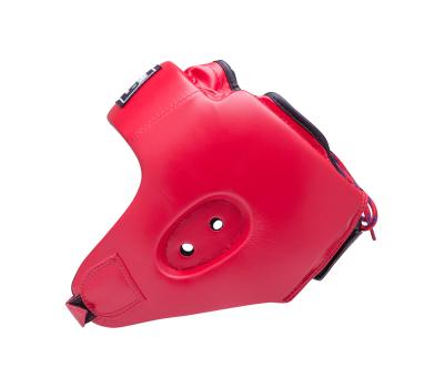 Шлем открытый Alfa HGA-4014, кожзам, красный, M, фото 3