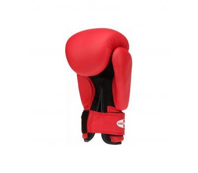 Перчатки боксерские SILVER BGS-2039, 12oz, к/з, красный, фото 2