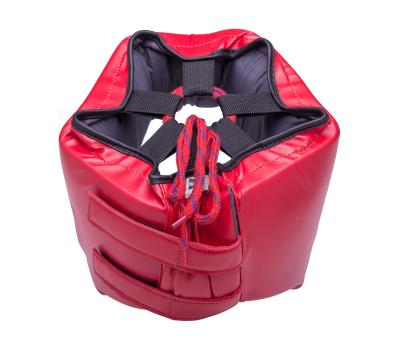 Шлем открытый детский Orbit, HGO-4030, кожзам, красный, XL, фото 2