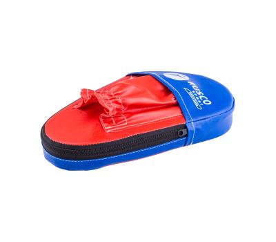 Лапы прямые, кожзам, пара, красный/синий, фото 1