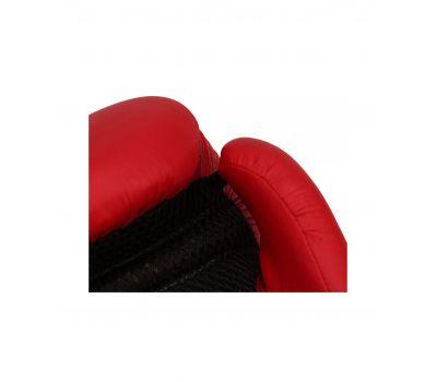 Перчатки боксерские SILVER BGS-2039, 12oz, к/з, красный, фото 3